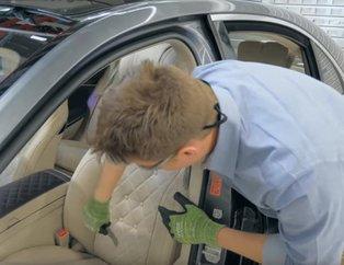 Mercedes koltuğunu kesip biçtiler, içini dışına çıkardılar! Çıkanlar ise hayrete düşürdü...