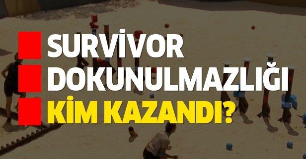 Survivor dokunulmazlık oyunu kim kazandı, eleme adayı kim oldu? 23 Mayıs dokunulmazlığı hangi takım kazandı?