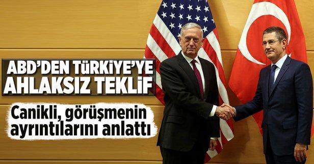 ABDden skandal YPG teklifi!