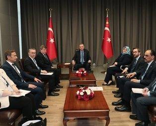 Başkan Erdoğan, Guy Ryder ile görüştü