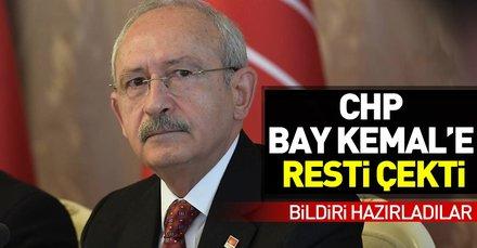CHP, Kılıçdaroğluna resti çekti