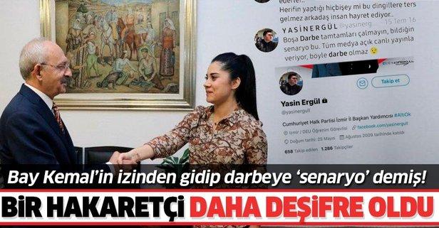 CHP'de bir hakaretçi daha deşifre oldu