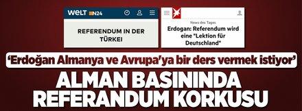 Alman basını: Erdoğan ders vermek istiyor