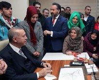 Başkan Erdoğan asker eşinin talebini dinledi