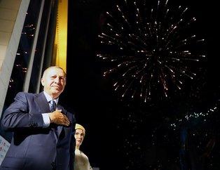 İşte Türkiye'nin ilk Başkanı Erdoğan'ın tarihi konuşmasından kareler
