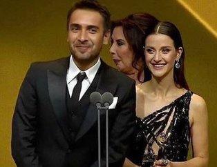 İrem Helvacıoğlu ile Ulaş Tuna Astepe en iyi dizi çifti oldu! 45. Altın Kelebek Ödülleri kime verildi? 2018