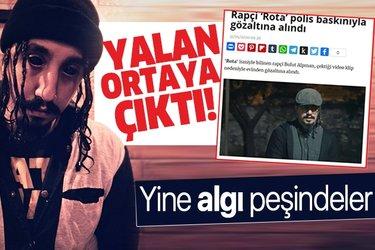 Son dakika haberleri: 'Rapçi Rota Bulut Alpman gözaltına alındı' iddiası yalan çıktı!
