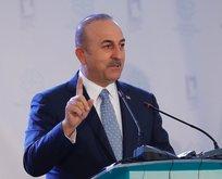 Çavuşoğlu'ndan Filistin'e destek mesajı