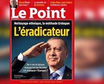 Başkan Erdoğan'ın suç duyurusunda bulunduğu Le Point dergisine ödül!