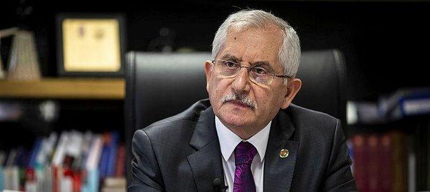 YSK Başkanı'ndan çok önemli açıklama: O şahıs gözaltına alındı