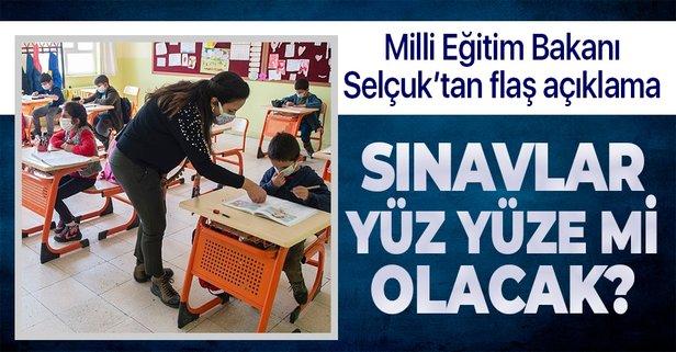 Okullar ne zaman açılacak? Sınavlar yüz yüze mi olacak? Milli Eğitim Bakanı Ziya Selçuk'tan flaş açıklamalar...