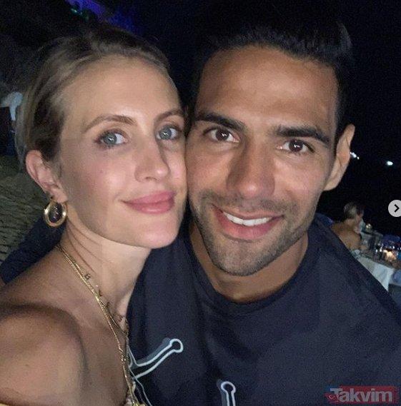 Radamel Falcao'nun eski aşkını görenler gözlerine inanamadı: Bu kadın terk edilir mi? İşte Galatasaray'ın eski yengesi...