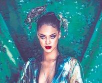 Rihanna'ya alkışlar