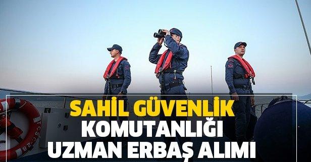 Sahil Güvenlik Komutanlığı 175 uzman erbaş alımı yapacak!