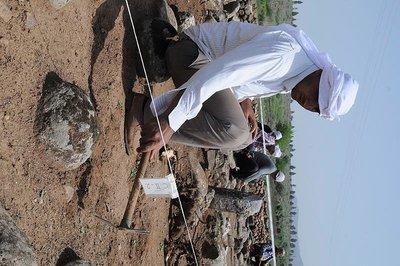 Hatay'da Kayı damgalı mezar taşları bulundu