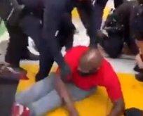 Bu kez de engelli bir siyahiye şiddet!