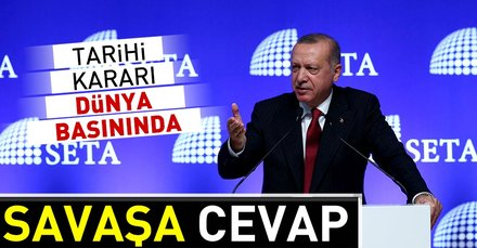 Başkan Erdoğanın ABDye boykot kararı dünyada gündem: Savaşa cevap