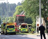 Avrupa ülkesinde patlama! 10'dan fazla yaralı var