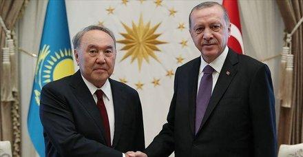 Son dakika: Başkan Erdoğan, Kazakistan'ın kurucu Cumhurbaşkanı Nazarbayev ile telefonda görüştü