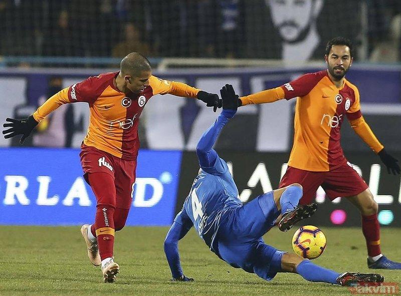 Cimbom'a Erzurum darbesi!(MS: BB Erzurumspor 1-1 Galatasaray)