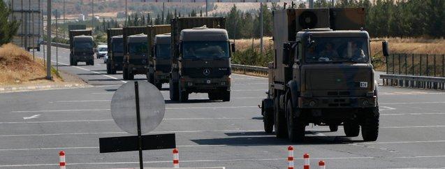 Suriye sınırında dikkat çeken sevkiyat!