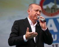 Başkan Erdoğan Kayseri'de konuştu