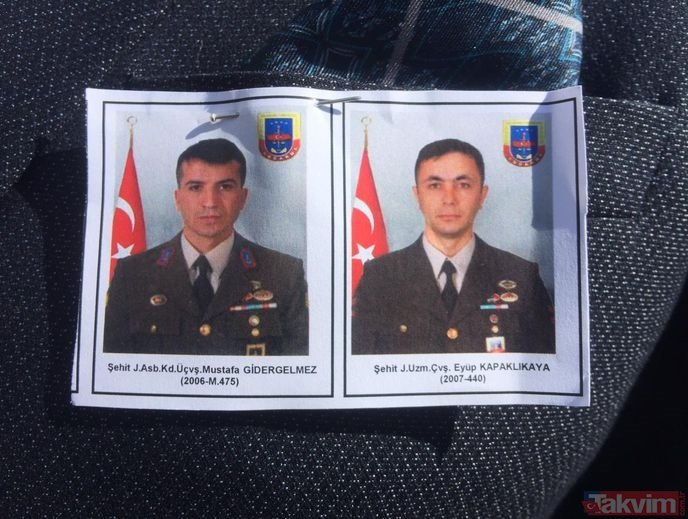 AA muhabiri Abdulkadir Nişancı'yı ararken şehit düşen 2 askere hüzünlü tören