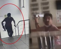 Doktora bıçak ve demir çubukla saldıran saldırgan tutuklandı