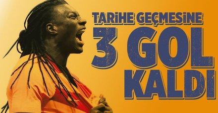 Gomis'in tarihe geçmesine 3 gol kaldı