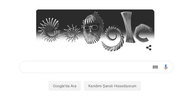 Google Doodle'a İlhan Koman'ı ekledi!