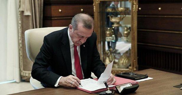 Erdoğandan OHAL sonrası düzenlemeye onay