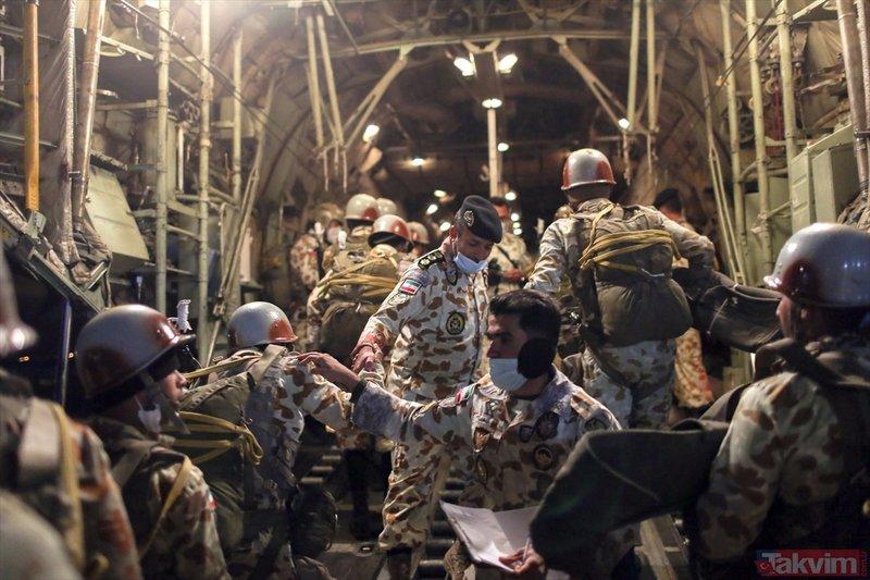 SON DAKİKA: İran Umman Denizi kıyısında askeri tatbikat başlattı