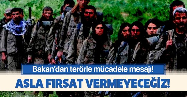 Adalet Bakanı Abdülhamit Gül'den terörle mücadele mesajı!