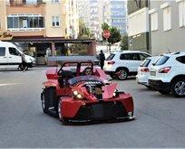 Emekli maaşıyla 6 ayda yaptı!  Gören Ferrari sanıyor