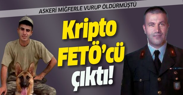 Askeri miğferle vurup öldürmüştü! Kripto FETÖ'cü çıktı!
