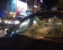 İzmir'de feci kaza! Yaşlı adam ağır yaralandı