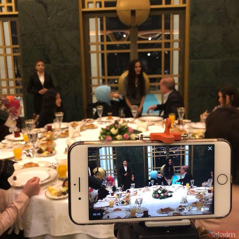 Erdoğan'dan Külliye'de gençlere sahur daveti