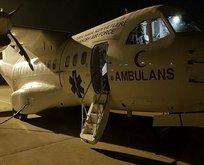 MSB: TSK'ya ait 9'uncu nakliye uçağı Elazığ'a ulaştı