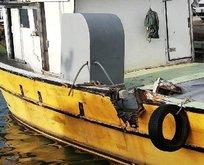 Türk balıkçı teknesine ateş açıldı: Yaralılar var...