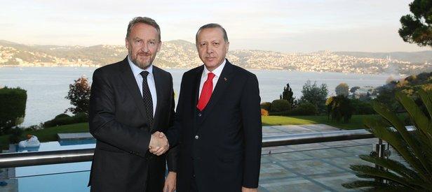 İzzetbegoviç Cumhurbaşkanı Erdoğan'ı ziyaret etti!