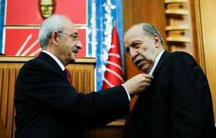 EYT kanununda imzası olan Yaşar Okuyan'ı alkışlattı!