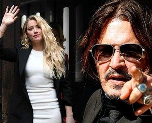 Johnny Depp iftira davasını kaybetti! Amber Heard'e şiddet uyguladığı iddia ediliyordu...