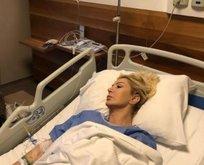 Ünlü sanatçı hastaneye kaldırıldı!