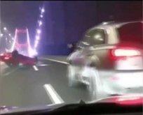 FSM Köprüsü'ndeki dehşet anları kamerada