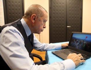 Başkan Erdoğan'ın oyu Mehmetçik'ten ilk iftara