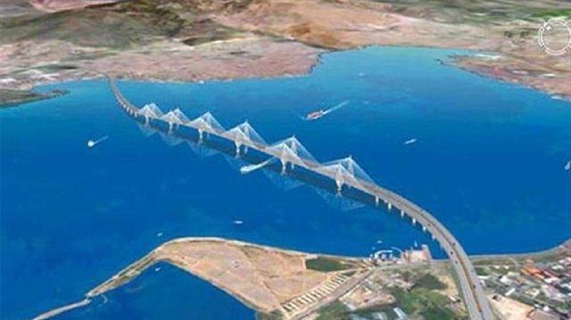 İşte Çanakkale Köprüsü'nün güzergahı