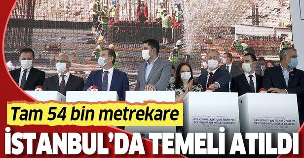 Zeytinburnu'na 54 bin metrekarelik Millet Bahçesi!