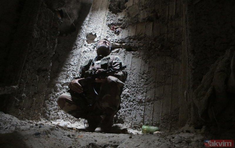 Son dakika: YPG/PKK'nın 12 kilometrelik tüneldeki konteynır odası ortaya çıktı