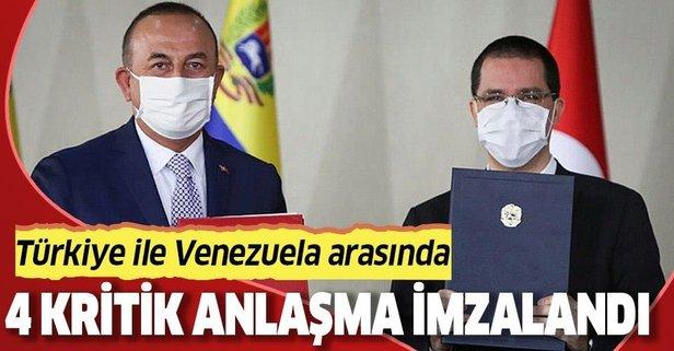 Türkiye ile Venezuela arasında 4 anlaşma