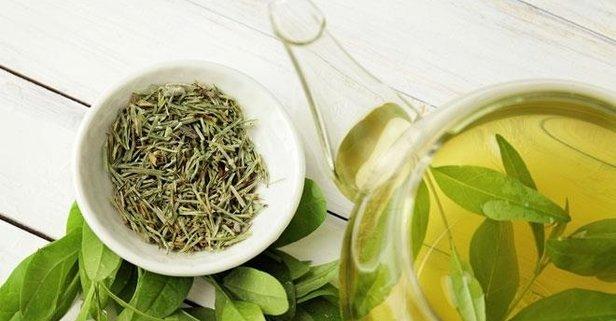 Kalp dostu yeşil çay